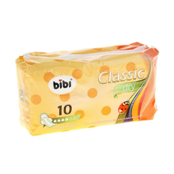 """Прокладки """"BiBi Classic Normal Dry"""", 10 шт."""