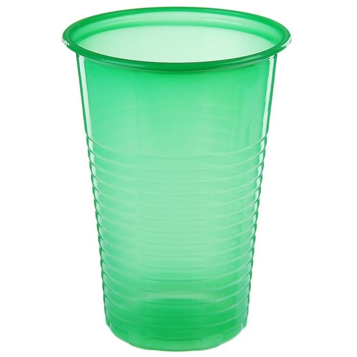 Стакан для холодных и горячих напитков, 200 мл., зелёный, 6 шт.
